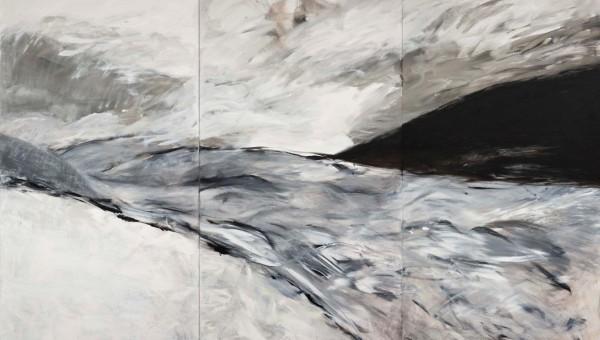 Andrea Wildner 2015 –Offensichtlich Licht- 200 x 300 cm, Acryl auf Leinwand