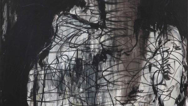Andrea Wildner 2015 –Gedankenwelt- 100 x 120 cm- Acryl auf Leinwand