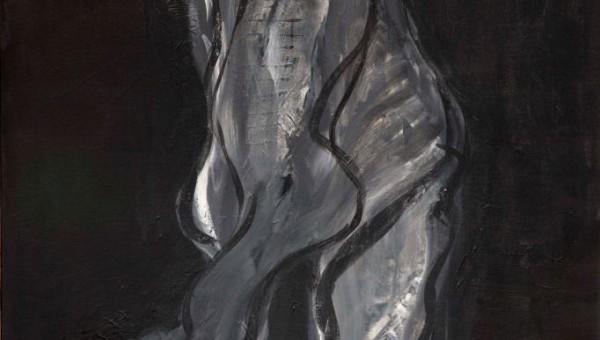 Andrea Wildner 2015 –Tänzer liebt- 140 x 100 cm, Acryl auf Leinwand