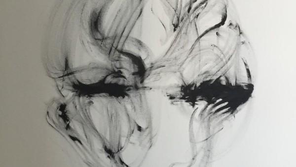 Andrea Wildner 2015 –Ohne Titel- 160 x 120 cm, Acryl auf Leinwand
