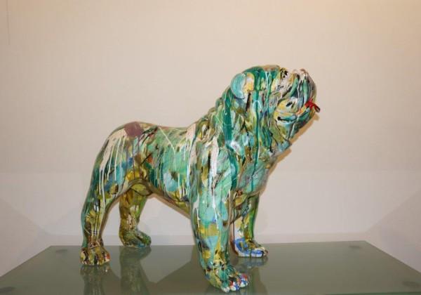 Englische Bulldogge Kunstharz